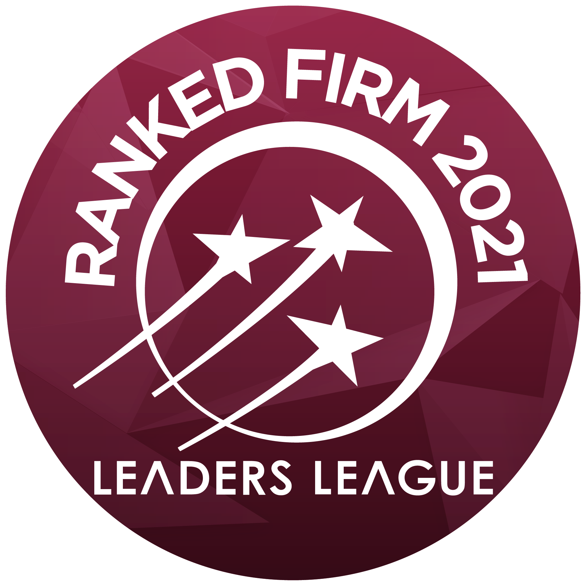Ranked Firm 2021 - Leaders League